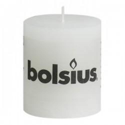 Bolsius Rustiek kaars wit