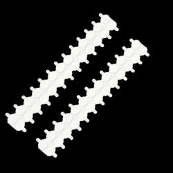 Pitvoet stickers 15 mm