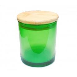 Glas  30 cl Groen helder...