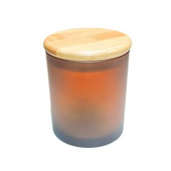 Glas 30 cl Amber Frosted...