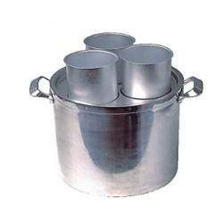 Smeltpan met 3 Alluminium...