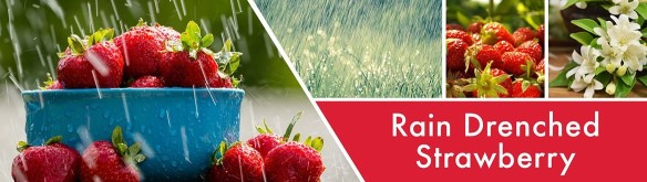 Goosecreek rain drenched strawberry